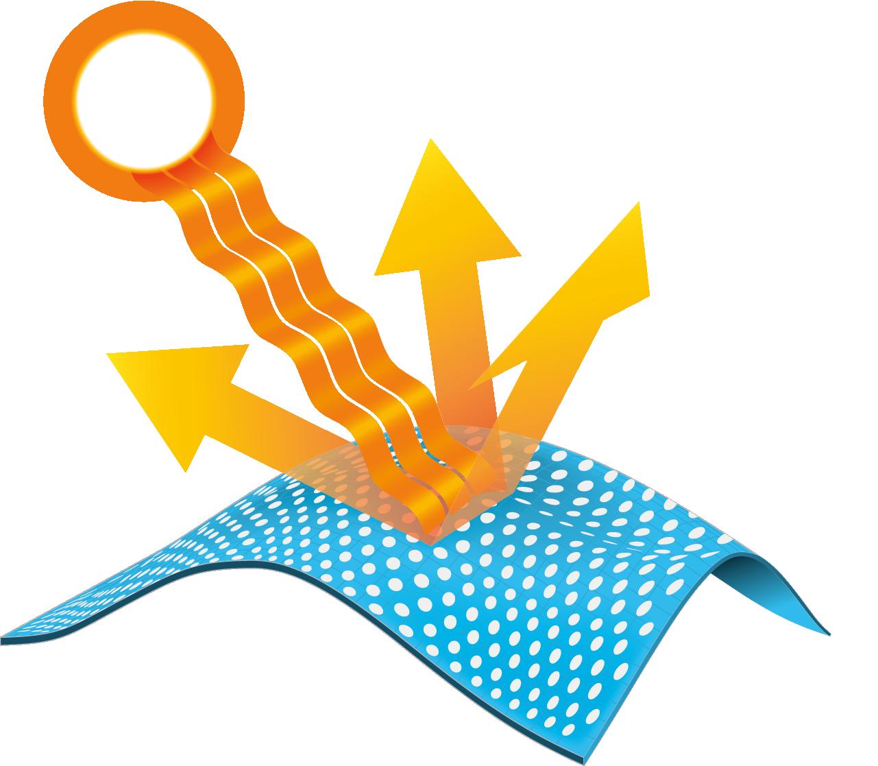 omni shade tecnologia ilustração